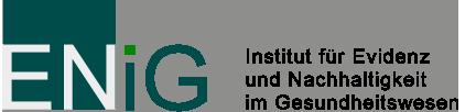 ENiG – Institut für Evidenz und Nachhaltigkeit im Gesundheitswesen